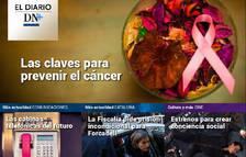 Las jornadas contra el cáncer en Pamplona ,en el Diario DN+