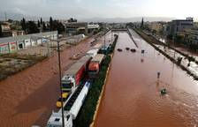 Devastación en Grecia por lluvias torrenciales