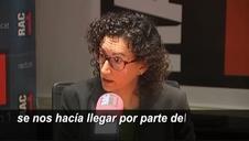 """Marta Rovira afirma que el Gobierno amenazó con que """"habría muertes en la calle"""" si seguían con la DUI"""