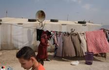 La vida en un campo de refugiados