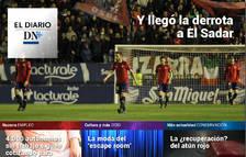 La derrota de Osasuna, en El Diario DN+
