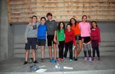 Encuentro de jóvenes escaladores