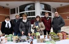Preludio festivo con el  mercado de Navidad