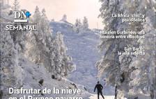 Disfrutar de la nieve en el Pirineo navarro, en el DN+ Semanal