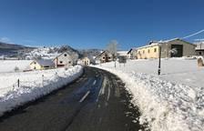 Nieve en el norte de Navarra