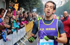 Galería de imágenes de la carrera celebrada en Estella el 31 de diciembre.