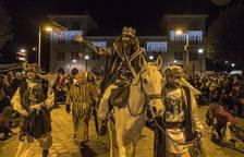 La cabalgata de los Reyes Magos de Estella 2018