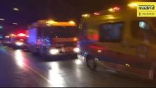 Heridas 26 personas al desplomarse el falso techo de una discoteca en Madrid