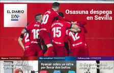 El triunfo de Osasuna en Sevilla, en El Diario DN+