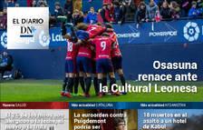 La victoria que hace renacer a Osasuna, en el Diario DN+.