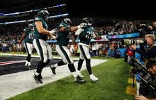 Los Eagles se coronan en la SuperBowl