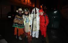 Las calles de Huarte reciben a minervas y Tipulón