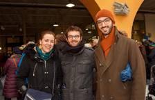 Los caldereros, de visita en el mercado