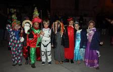 El carnaval 'disfraza' las calles de Aoiz