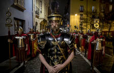 La Hermandad de la Pasión de Pamplona se prepara para Semana Santa