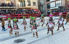 Colorido y ritmo en los Carnavales de Villafranca