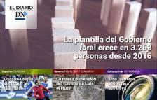 El aumento de la plantilla del Gobierno foral, en El Diario DN+
