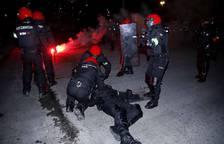 Incidentes en los alrededores de San Mamés