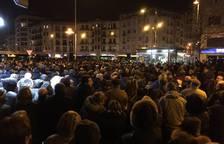 Manifestación de pensionistas en Tudela y Pamplona