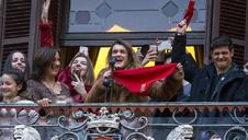 Directo: recepción oficial a Amaia en el Ayuntamiento de Pamplona