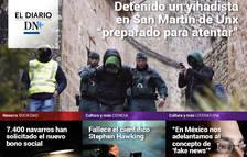 La detención de un presunto yihadista en San Martín de Unx, en el Diario DN+
