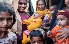 La vida en un campo de refugiados rohingya en Bangladesh