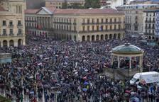 Manifestación en Pamplona por unas pensiones dignas