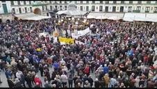 Vídeo de la manifestación en Tudela por las pensiones