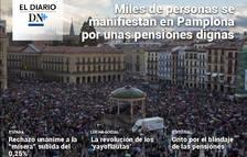 La lucha de los pensionistas en Navarra, en el Diario DN+