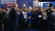 Putin logra la reelección con más del 70 por ciento de los votos