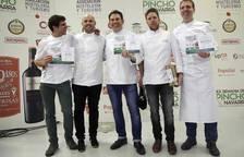Entrega de premios de la Semana del Pincho de Navarra 2018