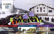 Las protestas de los alcaldes por Belate, en El Diario DN+
