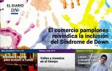 El comercio pamplonés apoya el Día Internacional del Síndrome de Down, en el Diario DN+