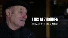 Luis Alzuguren, patrón de un bacaladero que surcó la costa de Terranova