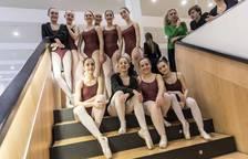 Alumnos de la Escuela de Danza de Navarra ofrecen un espectáculo en Expofamily