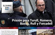Prisión de los líderes independentistas, en el Diario DN+