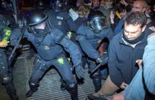 Protestas en Cataluña por el encarcelamiento de políticos