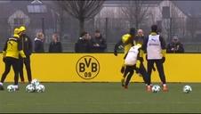 Usain Bolt se entrena con el Borussia Dortmund