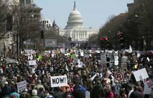 Cientos de miles de personas piden en EE UU un mayor control de las armas de fuego