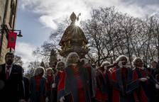 Procesión histórica de San Fermín por el Año Jubilar