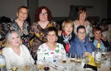 Reunión gastronómica para las socias de 'Marecilla'