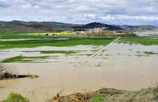Imágenes de las inundaciones en la Zona Media