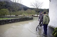 Imágenes de las inundaciones en Sakana