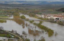 Inundaciones en Tierra Estella y la Ribera
