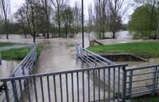 El puente del Club Natación. DAVID GARCÍA