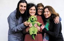 Imágenes del colectivo 'los perro verde', que lucha contra el estigma de la enfermedad mental desde el aula