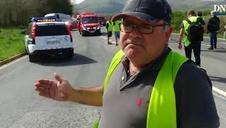 Declaraciones del camionero José Ramon Martínez García, primer testigo del accidente