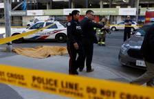 Imágenes del atropello mortal en Toronto