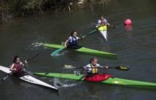 50 piragüistas participaron en la cuarta y última jornada de los Juegos Deportivos de Navarra