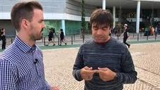 Entrevista con Manu Guix en Eurovisión